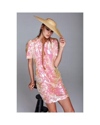 YNOT Vestito donna con paillettes