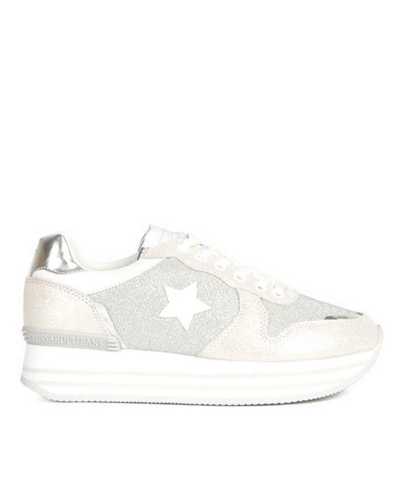 negozio ufficiale 50-70% di sconto prezzo favorevole Trussardi Jeans Sneakers women with Platform
