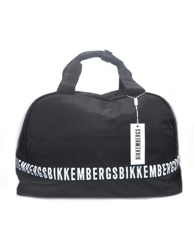 Bikkembergs Borsone viaggio/palestra uomo nero