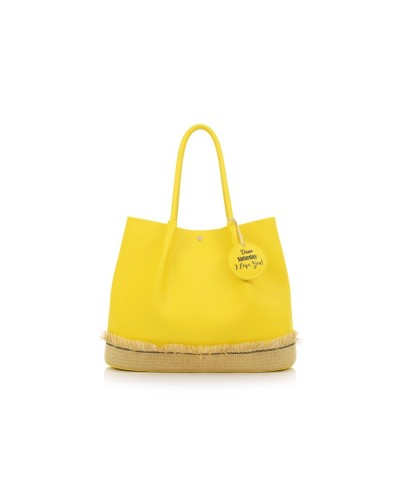 Le pandorine Borsa a Mano Sun Bag SATURDAY Yellow
