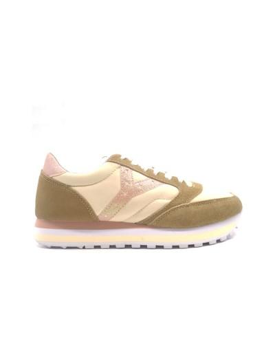YNOT Sneakers women's Beige/Pink