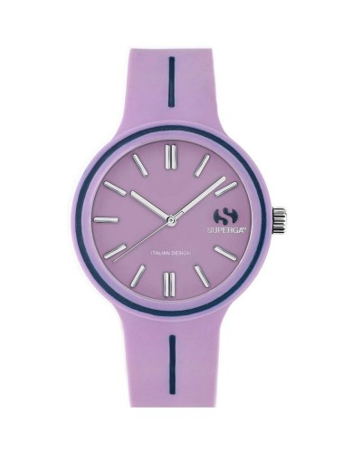 Superga Watch Only Time woman silicone
