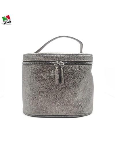Loristella Beauty women's stainless steel genuine leather