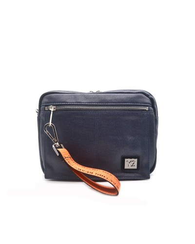 YNOT Clutch bag man blue