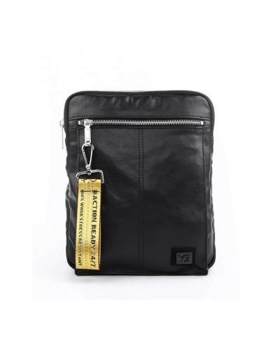 YNOT man Shoulder Bag black
