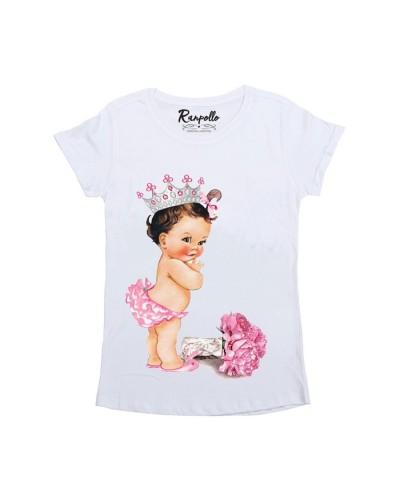 Ranpollo T-Shirt Basic donna fantasia