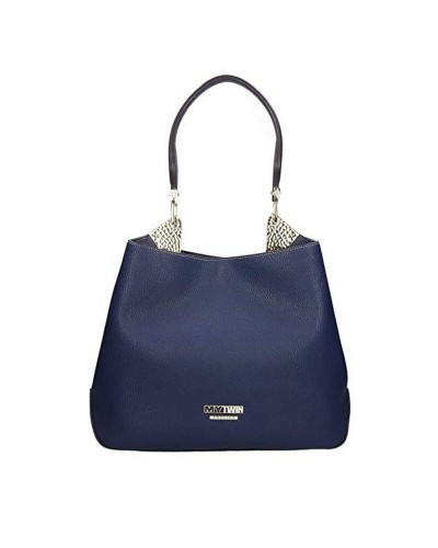 My Twin shoulder Bag blue woman