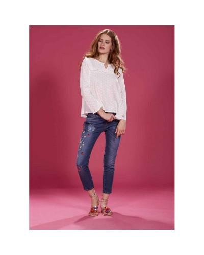 Jeans YNot? Donna 18PEY096 Blu