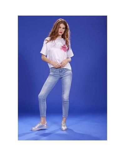 Jeans YNot? Donna 18PEY094 Blu Chiaro