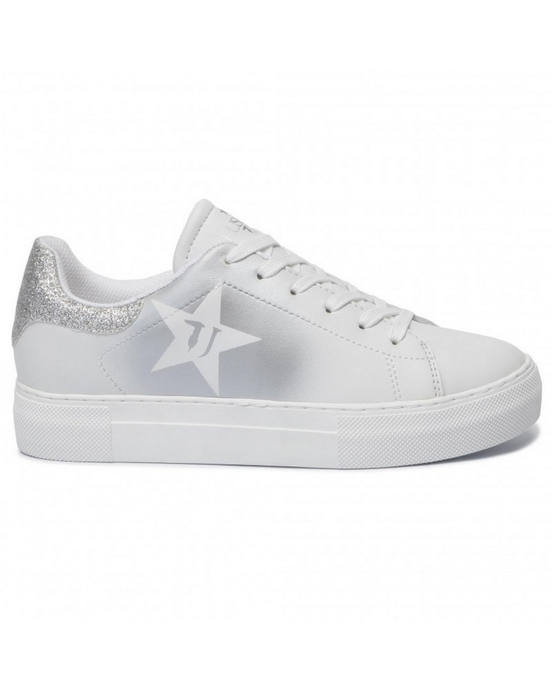 Sneakers Star Trussardi Jeans Donna Argento