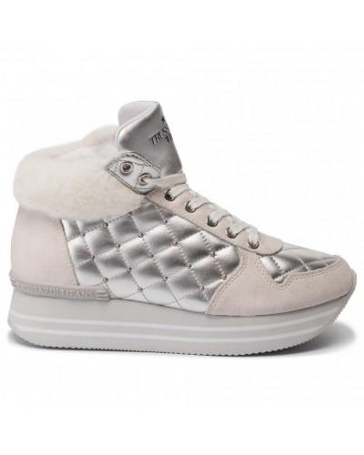 Sneakers Platform Trussardi Jeans Donna lato