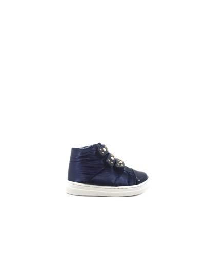 Sneakers Liu Jo Alta Bambina Ragazza  Trapuntata Blu