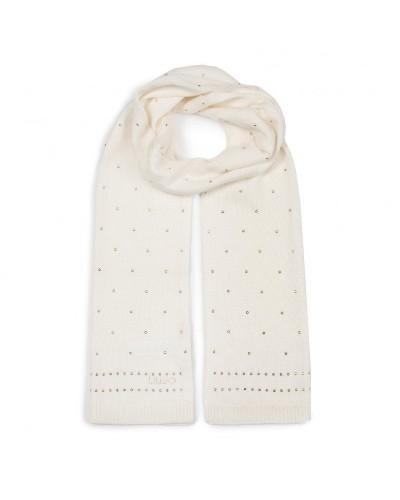 Sciarpa Liu Jo donna maglia con borchie