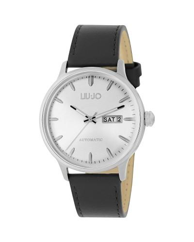 Orologio Liu Jo uomo meccanico automatic pelle silver