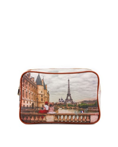 Beauty Ynot donna rettangolare grande con zip C'est la vie Paris