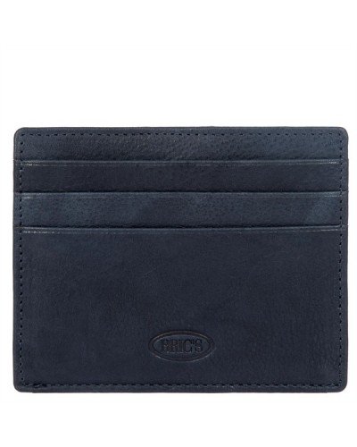 BRIC'S Porta carte 050 NAVY/GREY CARD HOLDER 10.25X8.25X1.5 cm