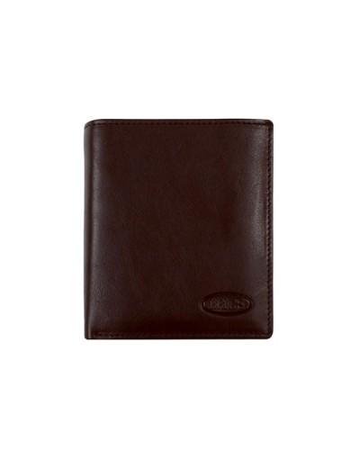 BRIC'S Portafoglio 002 Brown Wallet 11x9x1.75 cm