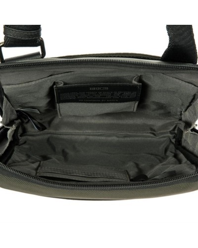 Bric's Tracolla Shoulder Bag 078 Black/Olive Monza size: 23x5x29