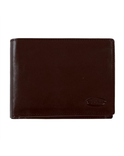 BRIC'S Portafoglio 002 BROWN Wallet 12.75x9.75x2.25 cm