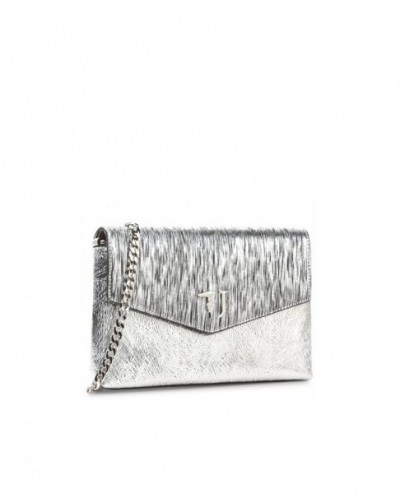 Borsa Trussardi Jeans a tracolla argento
