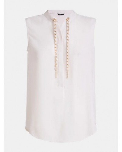 Blusa Guess Marciano donna catena bianca