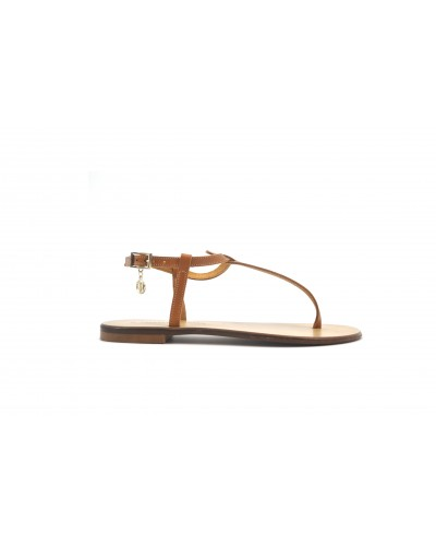 Sandalo Trussardi Jeans donna cuoio/beige