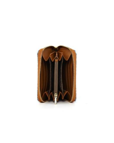 Portafoglio Ynot donna medium con zip around
