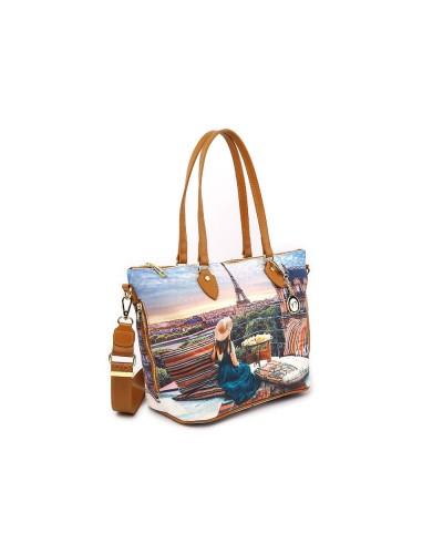 Shopping bag Ynot donna piccola con zip