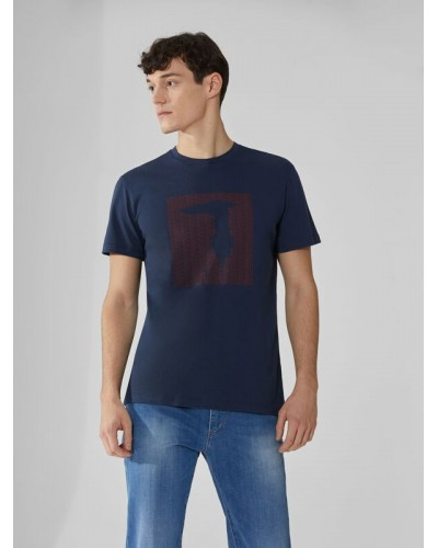 T-shirt Trussardi Jeans uomo cotone slim fit