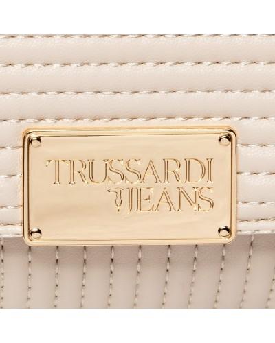 Borsa Trussardi Jeans donna laminata trapuntata. FRIDA