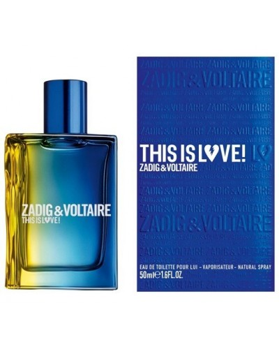 Profumo uomo Zadig&Voltaire This is love eau de toilette 50ml