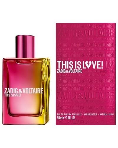 Profumo donna Zadig&Voltaire This is love eau de parfum 50 ml