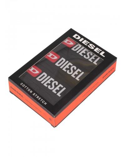 Slip Diesel cotton stretch 3 pack nero