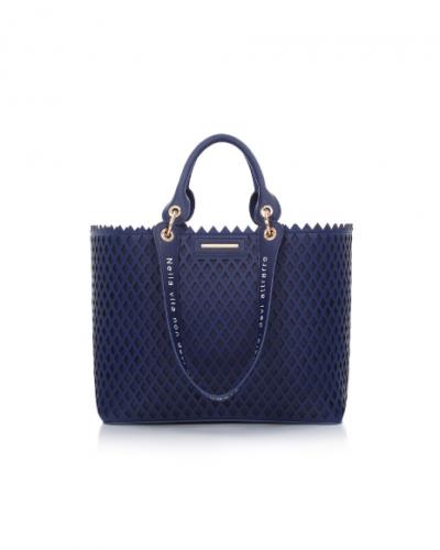 Borsa Le Pandorine shopping blue style attrare