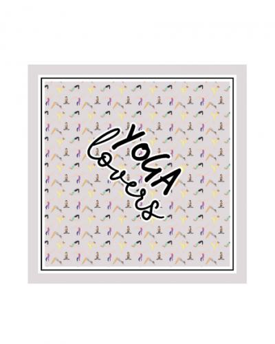 Pashmina Le Pandorine Yoga grey