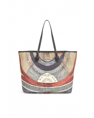 Borsa Gattinoni Planetarium donna in ecopelle modello shopping grande