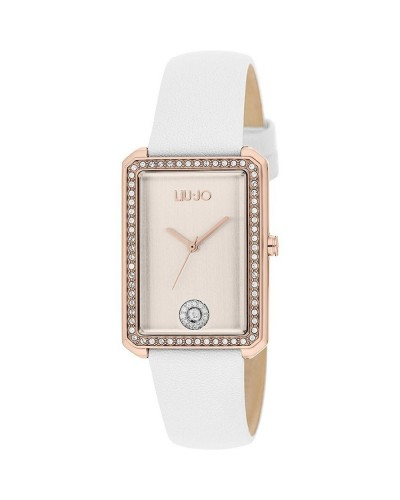 Orologio Donna Unique Brill TLJ1274 Liu Jo Luxury Bianco
