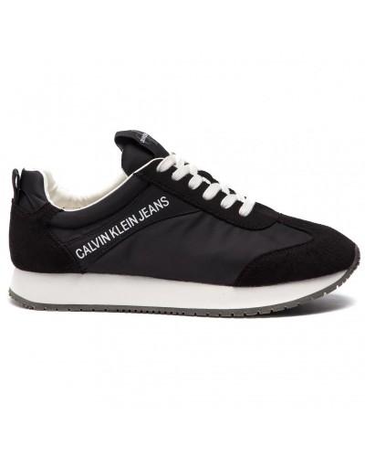Sneakers Calvin Klein uomo  in nylon e suede