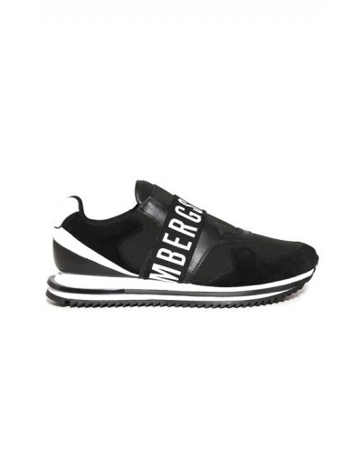 Sneakers Bikkembergs uomo senza lacci con logo in rilievo