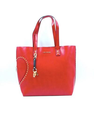 Shopping Gai Mattiolo rossa con borchie