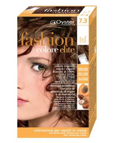 Tinta pronta Oyster kit fashion color elite crema colorante per capelli 50ml e emulsione attiva 50ml