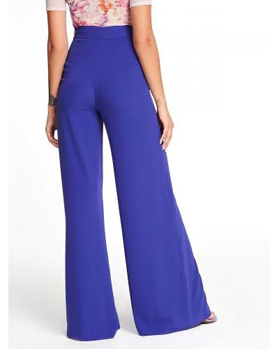 Pantalone palazzo Guess donna ocean violet