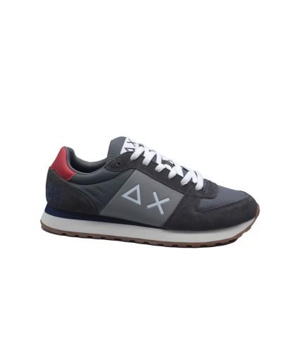 Scarpe Sneakers Sun68 uomo tom side band sport grigio