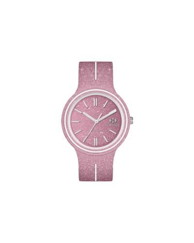 Orologio Superga donna con strass nel quadrante rosa e bianco