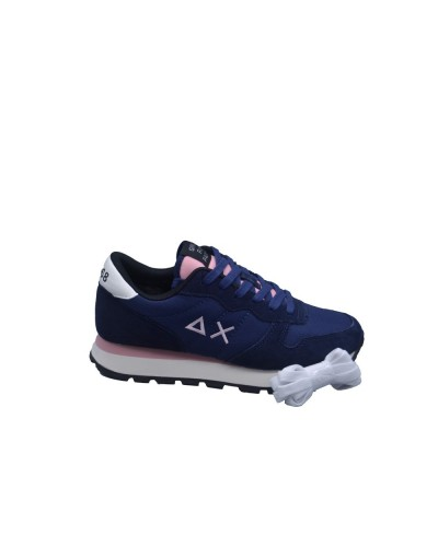 Scarpe Sneakers Sun68 donna ally solid navy blue