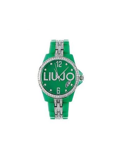 Liu Jo Orologio donna verde con applicazioni luminose