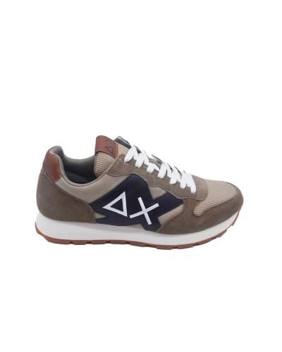 Scarpe Sneakers Sun68 uomo jaki solid bicolor beige scuro