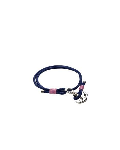 YES I AM bracciale corda blu elettrico