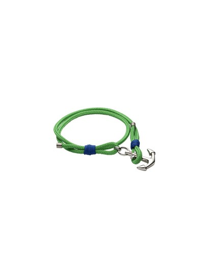 YES I AM bracciale corda verde