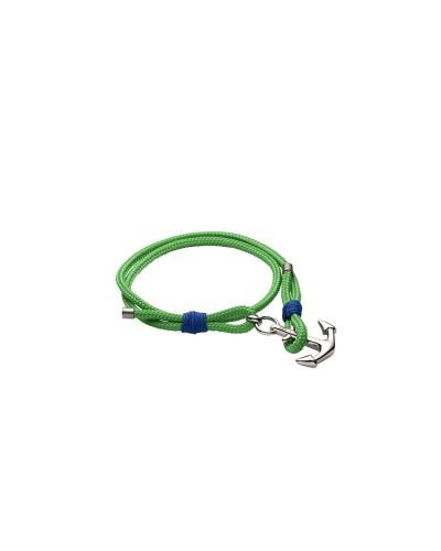YES I AM bracciale corda verde